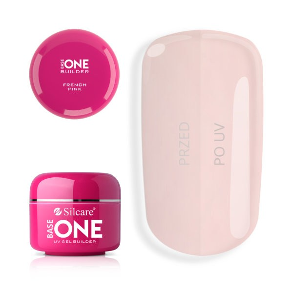 Gel uv Base One French Pink 15g baseone.ro