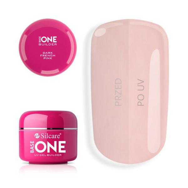 Gel uv Base One French Pink Dark 100g baseone.ro