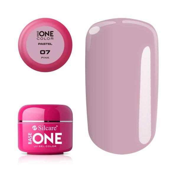 Gel UV Color Base One 5g Pastel 07 Pink baseone.ro
