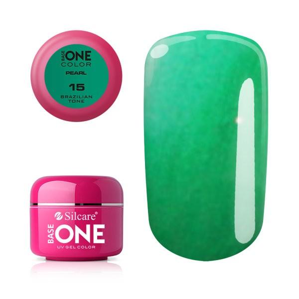 Gel UV Color Base One 5g Pearl- Brazilian Ton 15 baseone.ro