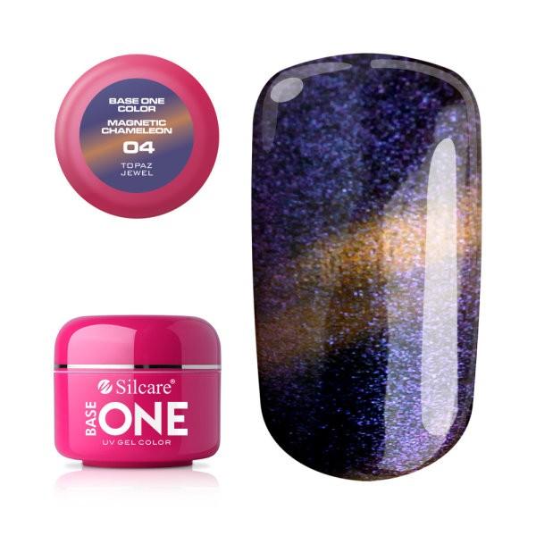 Gel UV Color Base One Silcare Magnetic Chameleon 04 baseone.ro