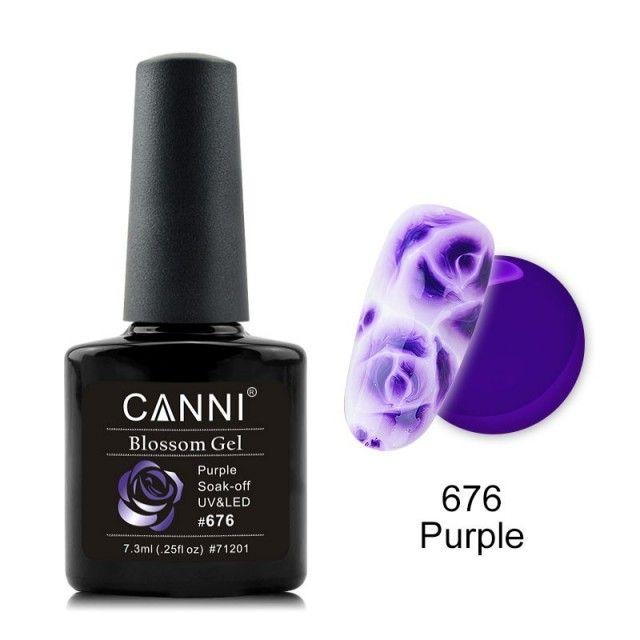 Oja Semipermanenta CANNI Blassom 676 Purple baseone.ro