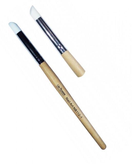 Pensula Nail Art cu Varf de Silicon nr 1 baseone.ro