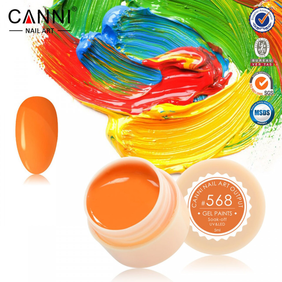 Gel color CANNI 5ml 568 baseone.ro