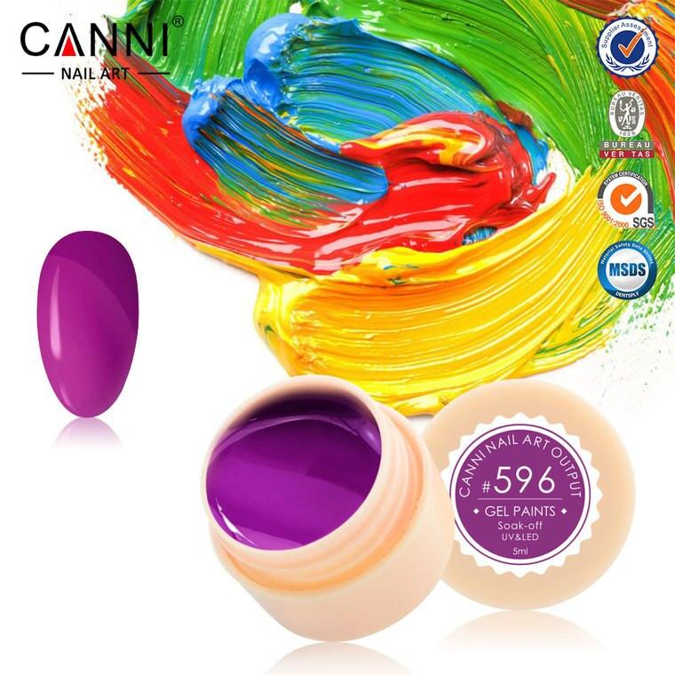 Gel color CANNI 5ml 596 baseone.ro