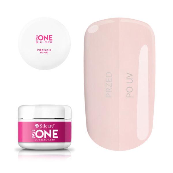 Gel uv Base One French Pink 100g baseone.ro