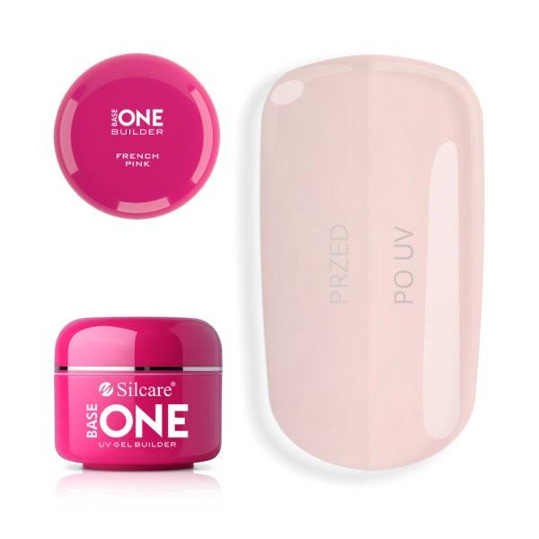 Gel uv Base One French Pink 50g baseone.ro