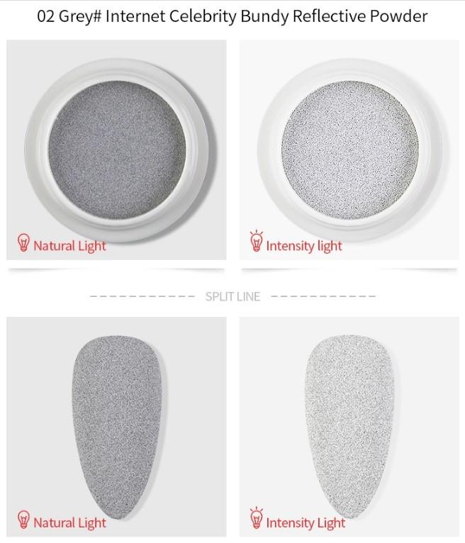 Pudra Argintie ce reflecta lumina baseone.ro