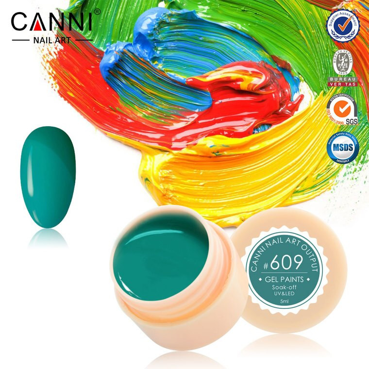 Gel color CANNI 5ml 609 baseone.ro