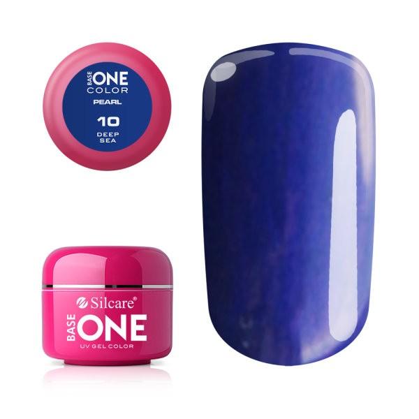 Gel UV Color Base One 5g Pearl 10 Deep Sea baseone.ro