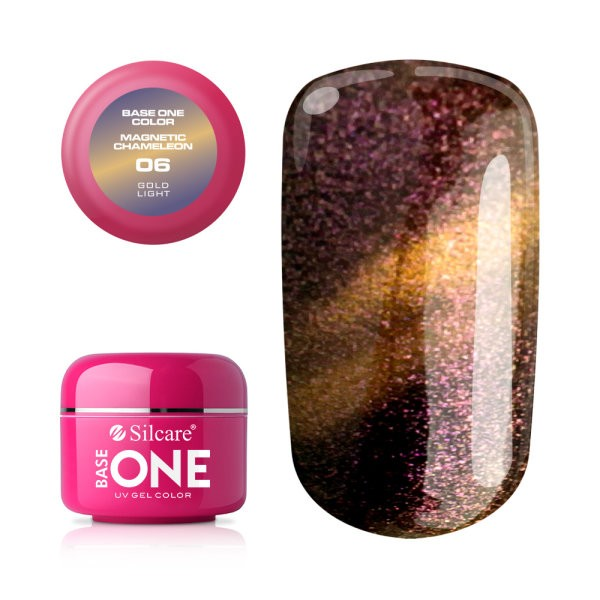 Gel UV Color Base One Silcare Magnetic Chameleon 06 baseone.ro