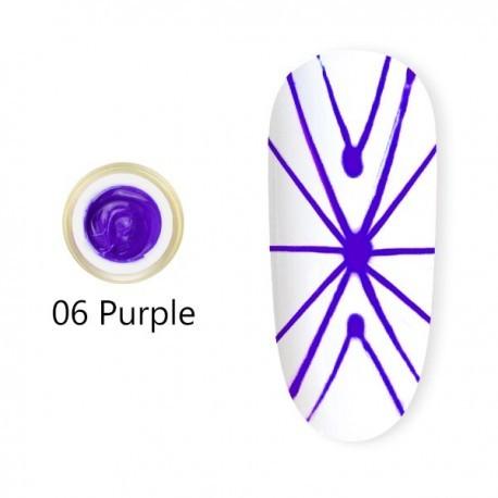 Gel UV Spider CANNI 06 Purple baseone.ro