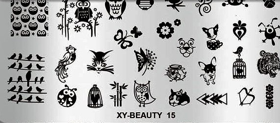 Matrita metalica model XY-Beauty-15 baseone.ro