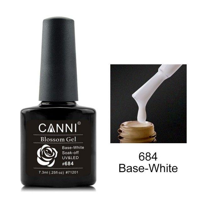 Oja Semipermanenta CANNI Blassom 684 Base-White baseone.ro