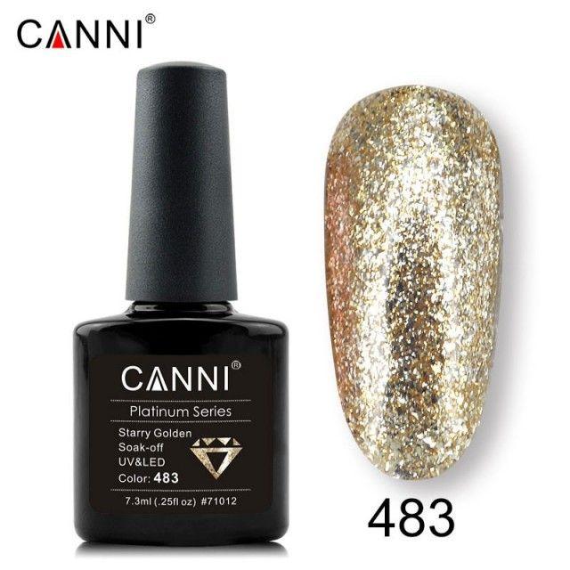 Oja Semipermanenta CANNI Platinum 483 baseone.ro