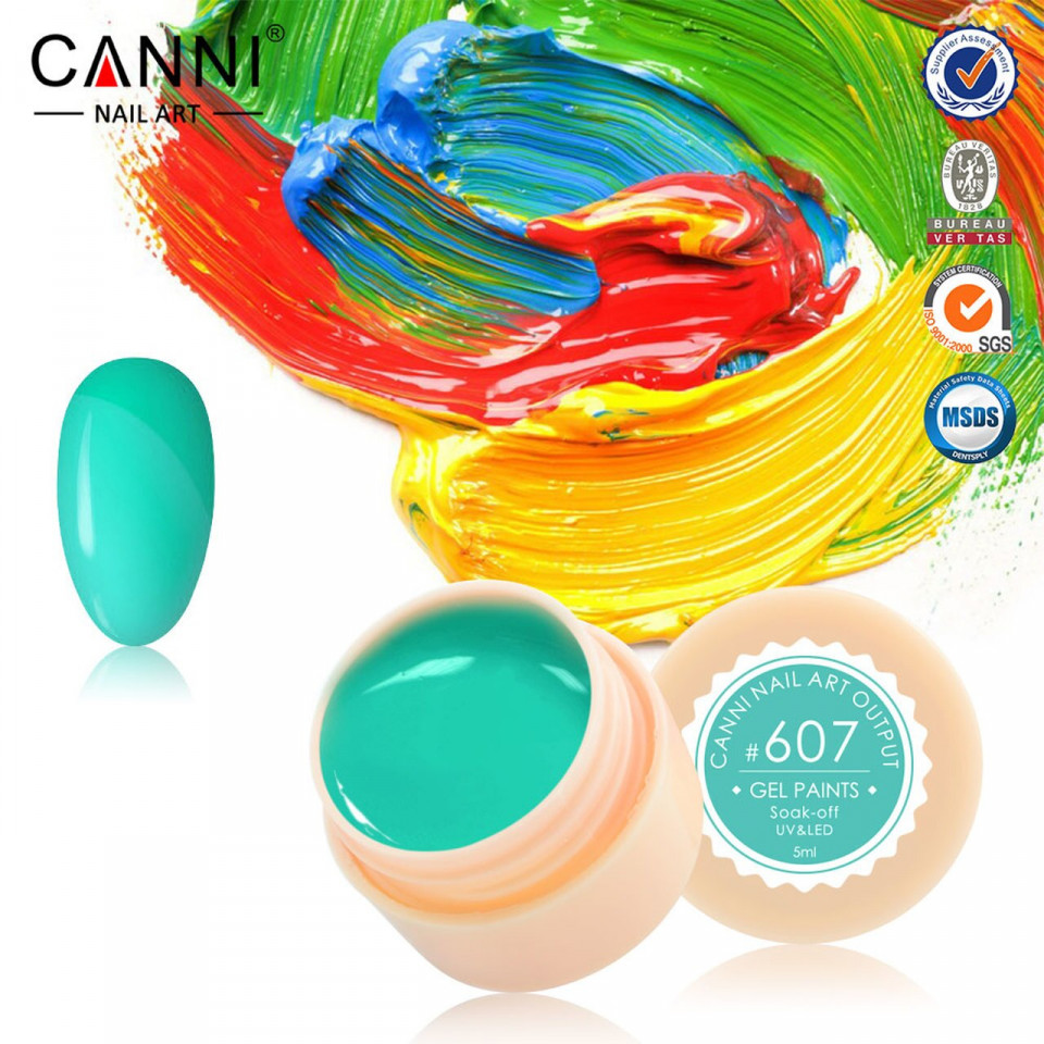 Gel color CANNI 5ml 607 baseone.ro