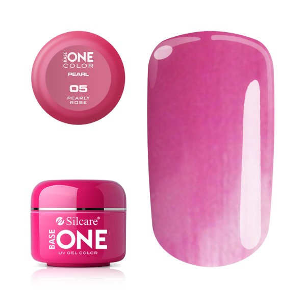 Gel UV Color Base One 5g Pearl- Pearly Rose 05 baseone.ro