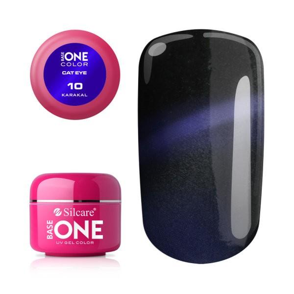 Gel UV Color Base One Silcare Cat Eye Magnetic Karakal 10 baseone.ro