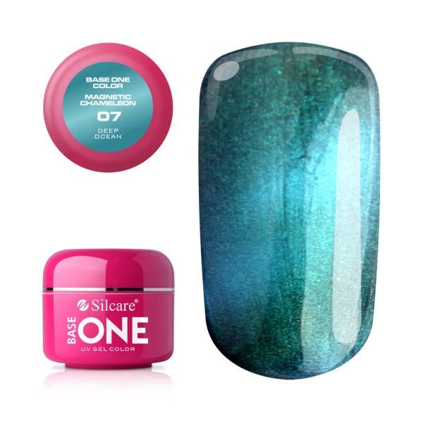 Gel UV Color Base One Silcare Magnetic Chameleon 07 baseone.ro