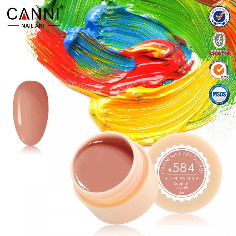 Gel color CANNI 5ml 584 baseone.ro