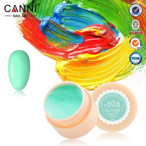 Gel color CANNI 5ml 606 baseone.ro
