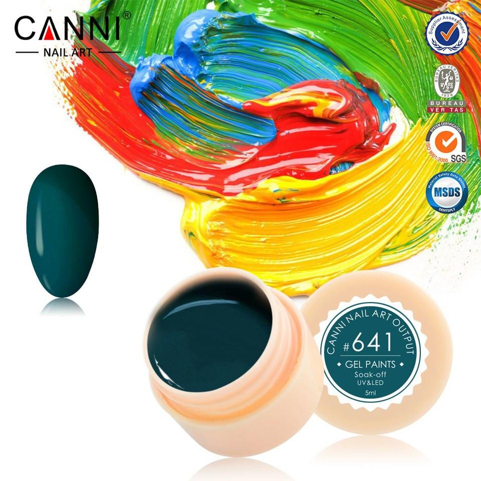 Gel color CANNI 5ml 641 baseone.ro