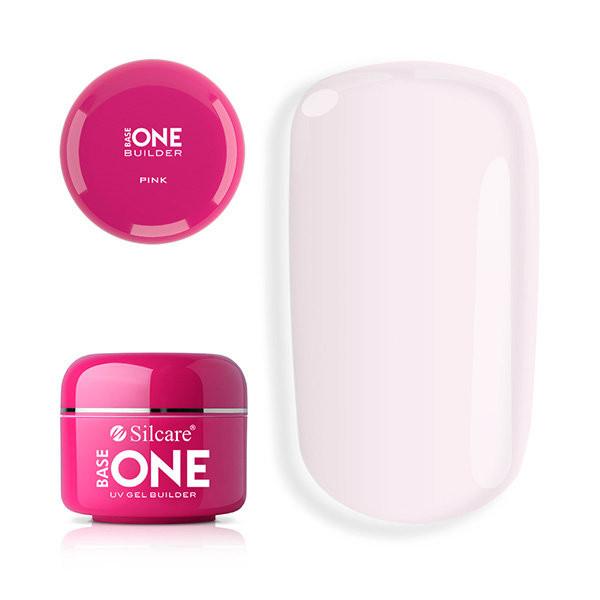 Gel uv Base One Pink 100 gr baseone.ro