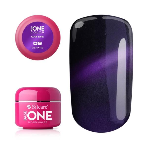 Gel UV Color Base One Silcare Cat Eye Magnetic Gepart 09 baseone.ro