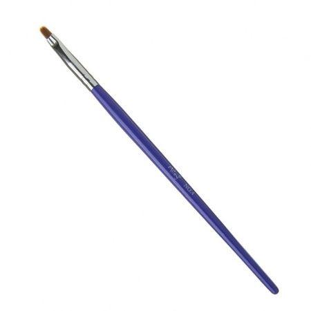 Pensula Limba de pisica NR6 Lila Rossa maner de lemn baseone.ro
