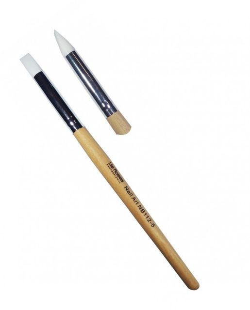 Pensula Nail Art cu Varf de Silicon nr 5 baseone.ro
