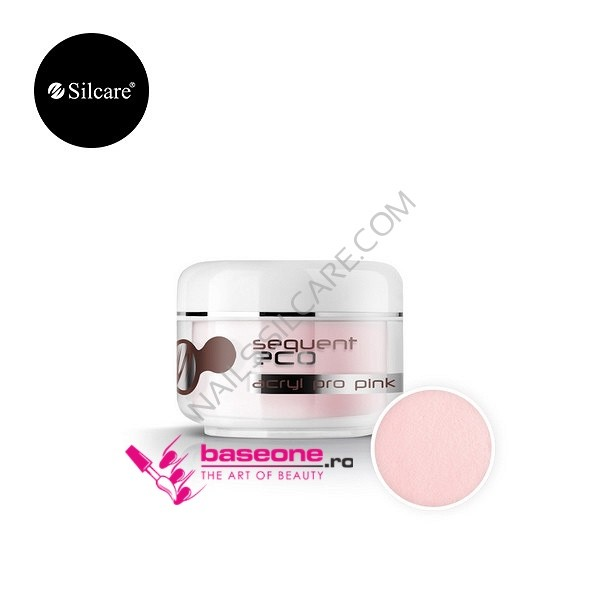 Pudra Acrilica Base One Silcare-Sequent Pink