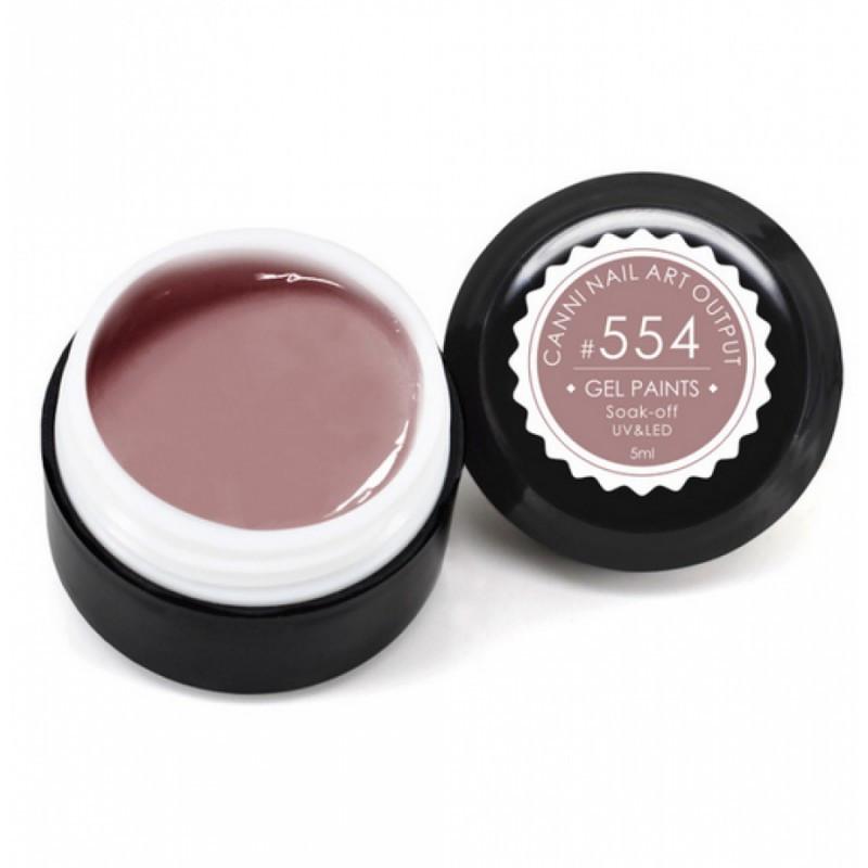 Gel color CANNI 5ml 554 baseone.ro