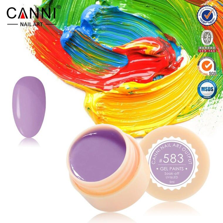 Gel color CANNI 5ml 583 baseone.ro