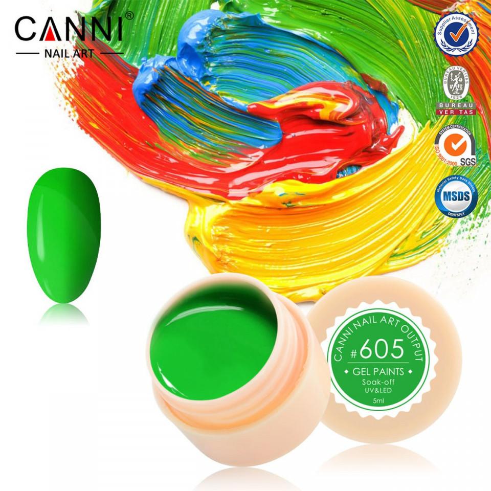 Gel color CANNI 5ml 605 baseone.ro