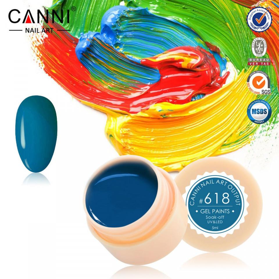 Gel color CANNI 5ml 618 baseone.ro