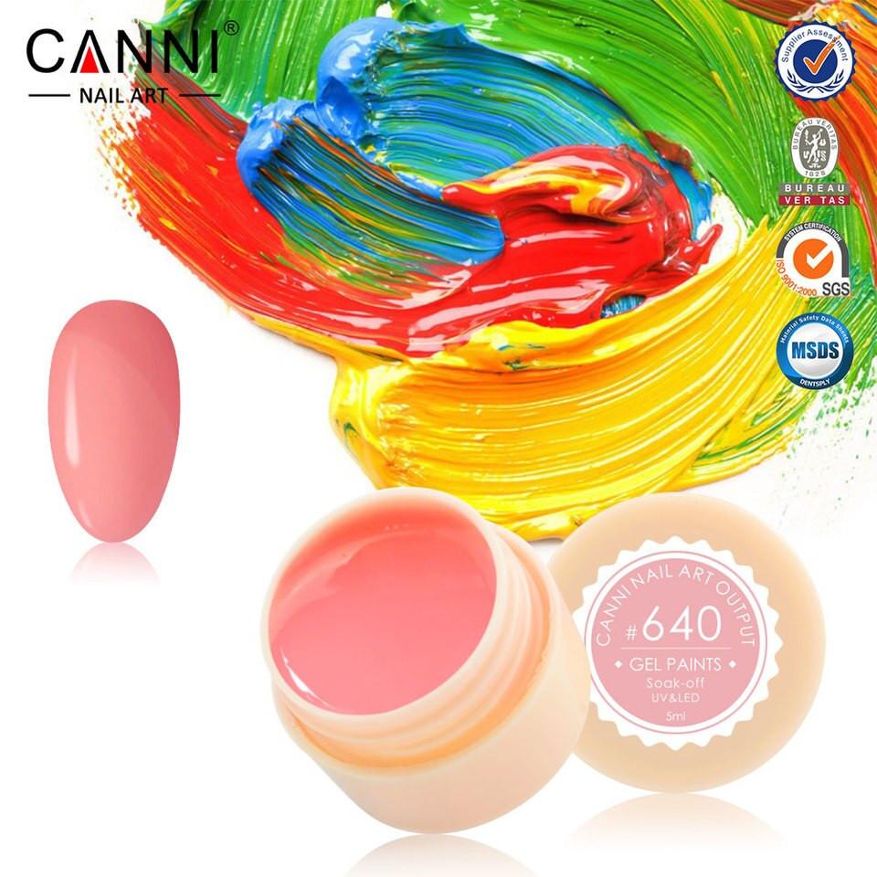 Gel color CANNI 5ml 640 baseone.ro