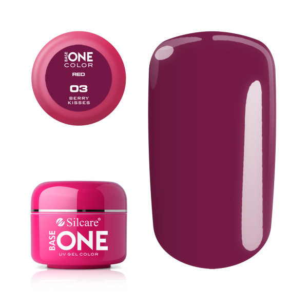 Gel UV Color Base One 5g Red Berry Kisses 03 baseone.ro