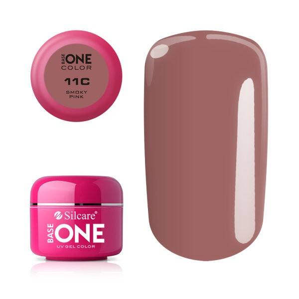 Gel UV Color Base One 5g Smoky-pink-11c baseone.ro