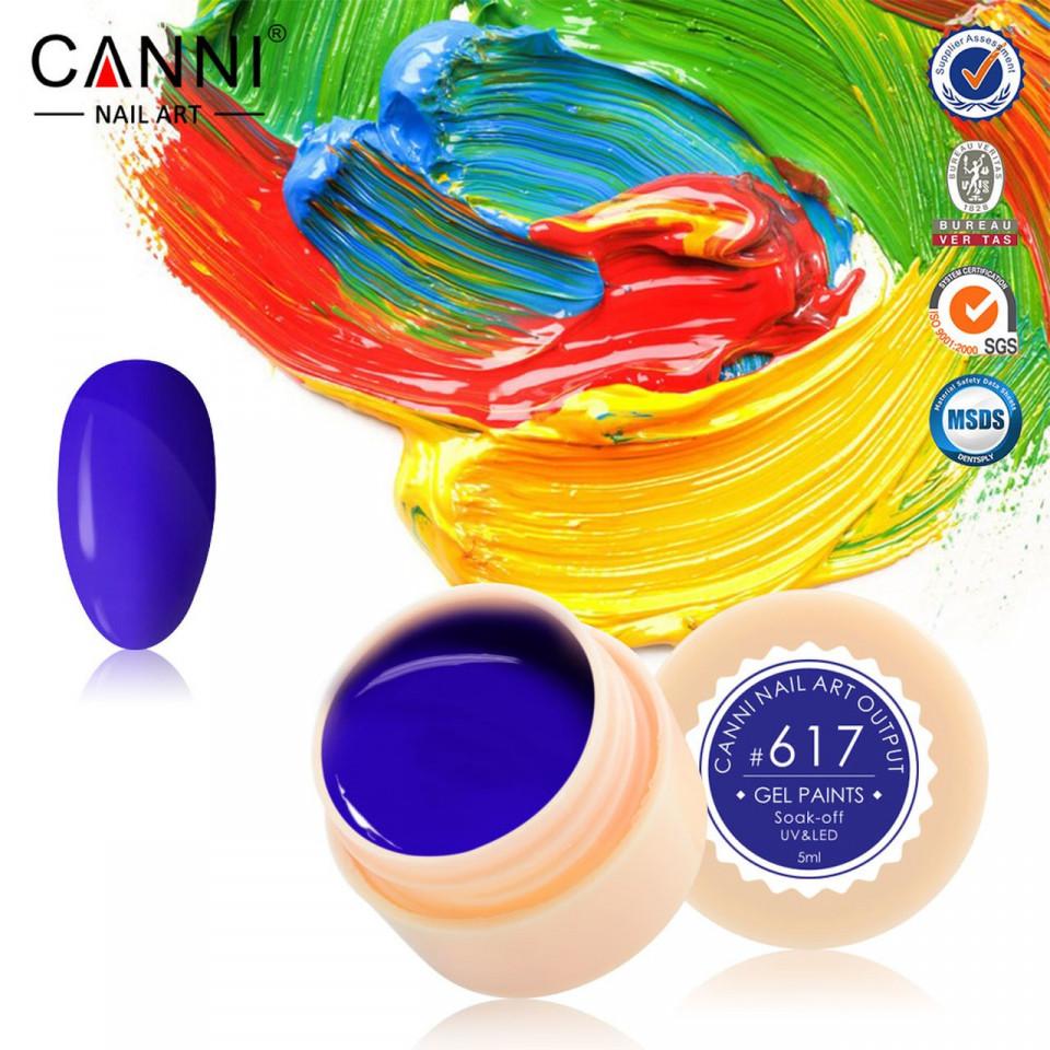 Gel color CANNI 5ml 617 baseone.ro