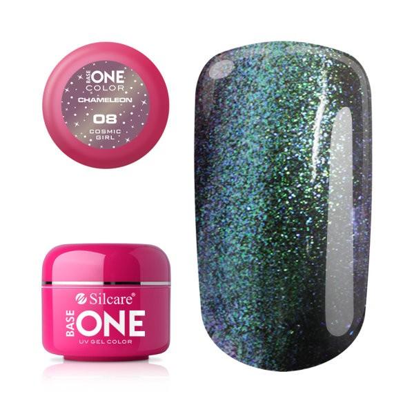 Gel UV Color Base One 5g Cameleon 08 Cosmic Girl baseone.ro