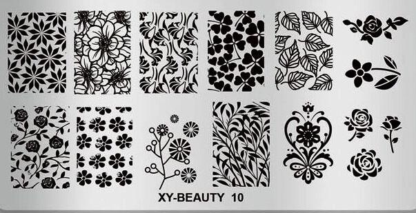 Matrita metalica model XY-Beauty-10 baseone.ro