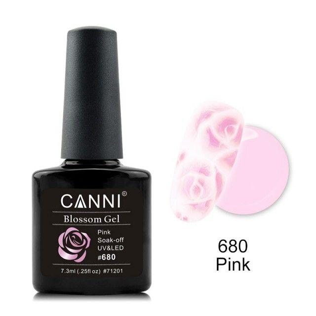 Oja Semipermanenta CANNI Blassom 680 Pink baseone.ro