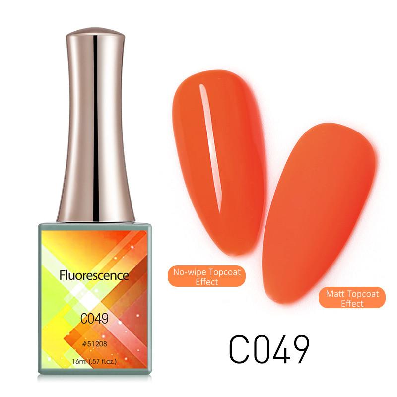Oja Semipermanenta CANNI Fluorescenta 16ml C049 baseone.ro