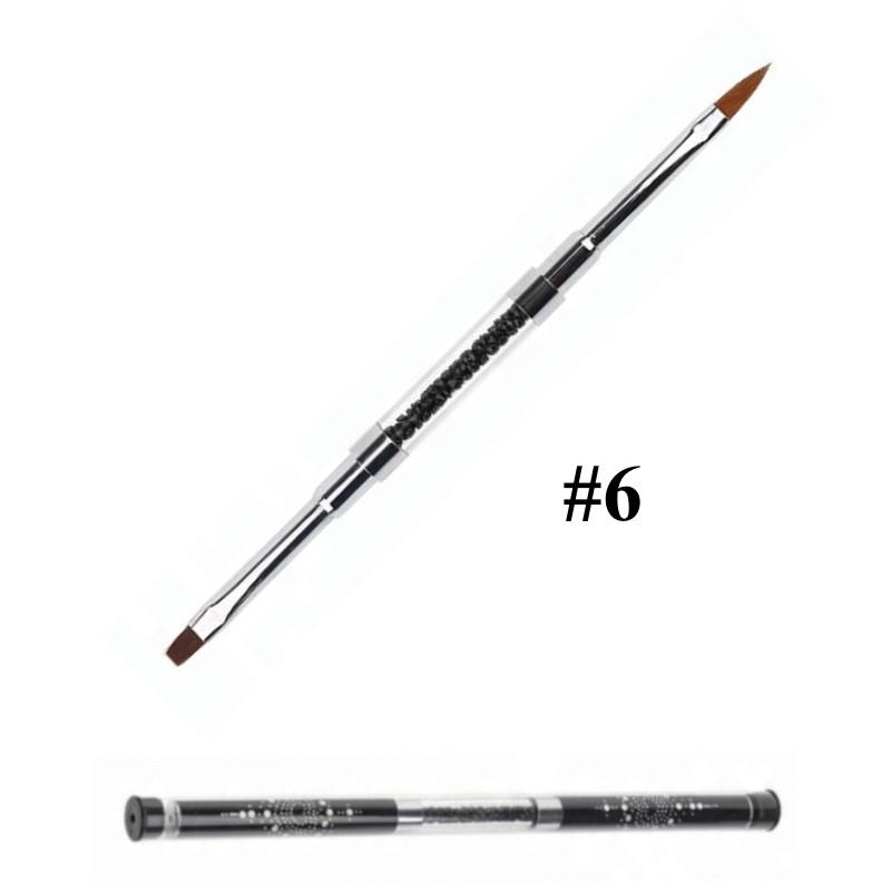 Pensula unghii cu doua capete nr 6 baseone.ro