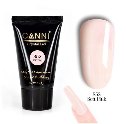 Polygel-Acrylgel CANNI soft PINK #852 baseone.ro