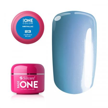 Gel UV Color Base One 5g Metalic Cosmic Blue 23