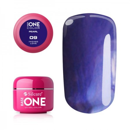 Poze Gel UV Color Base One 5g Pearl- Indigo Love 09