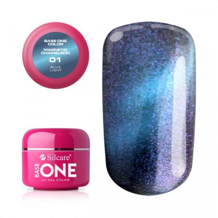 Gel UV Color Base One Silcare Magnetic Chameleon 01
