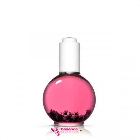 Ulei Cuticule cu Pipeta -75ml--Base One Silcare Yummy Gummy Pink