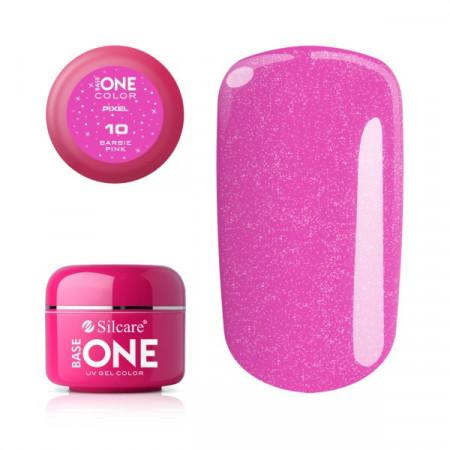 Gel uv Color Base One Silcare Pixel Barbie Pink 10